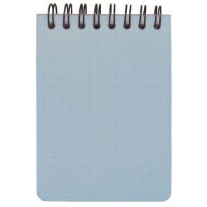 Sininen A7 muistilehtiö 1-väripainatuksella