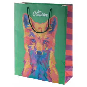 CreaShop L Custom Made Paper Shopping Bag, Large