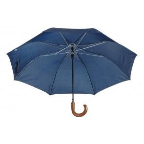 Stansed Taitettava sateenvarjo, jossa puinen kahva