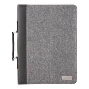Smokey Zip A4 Document Folder